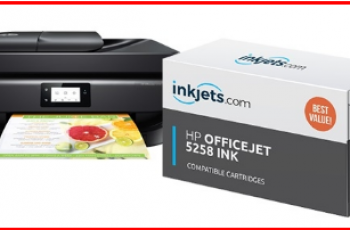 Hp OfficeJet 5258 All-In-One Ink
