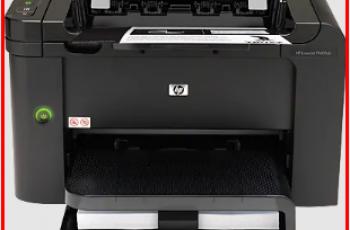 Hp LaserJet P1606DN Driver